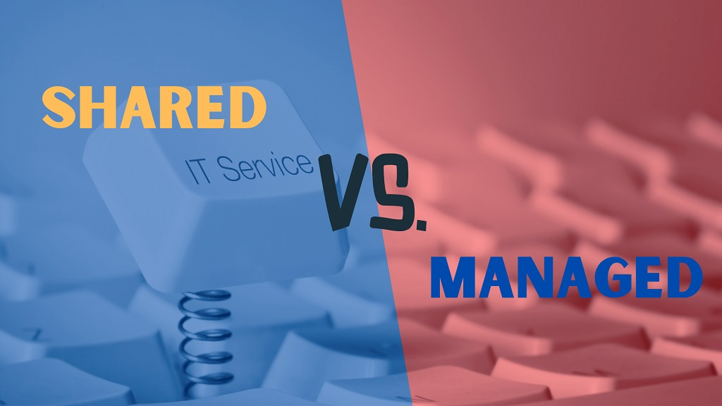 shared and managed services